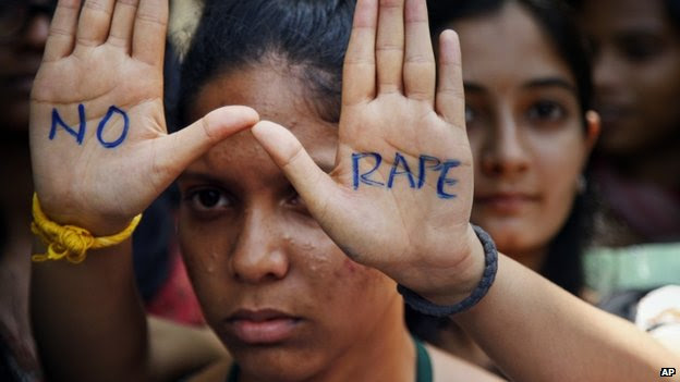 Demonstration against rape in India (13 September 2013)