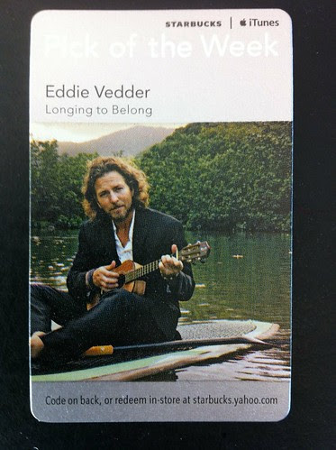 Starbucks iTunes Pick of the Week - Eddie Vedder - Longing to Belong