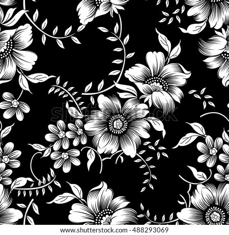 Black White Flowers Stock Images Page Everypixel