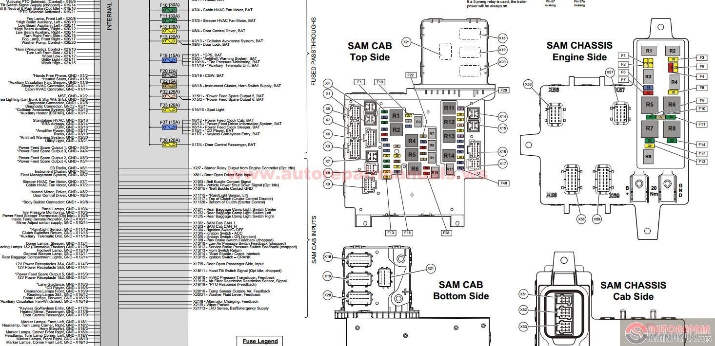 2016 freightliner cascadia fuse box diagram - wiring site resource  wiring site resource