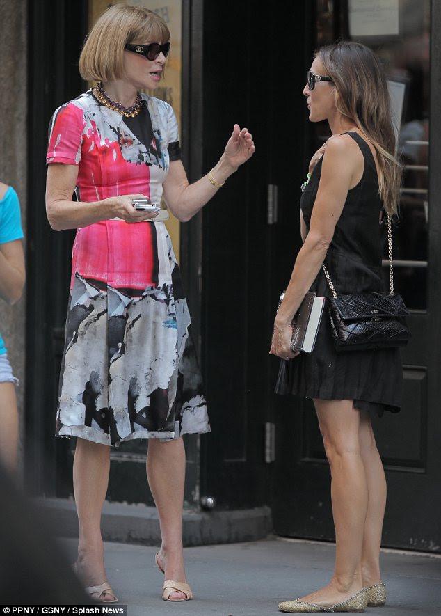 El Helping: Wintour gardırop Parker seçiminde yardımcı olacaktır gösterisi dördüncü sezonunda rol için takıyor