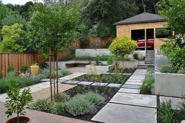 California Back Yard Landscape Ideas