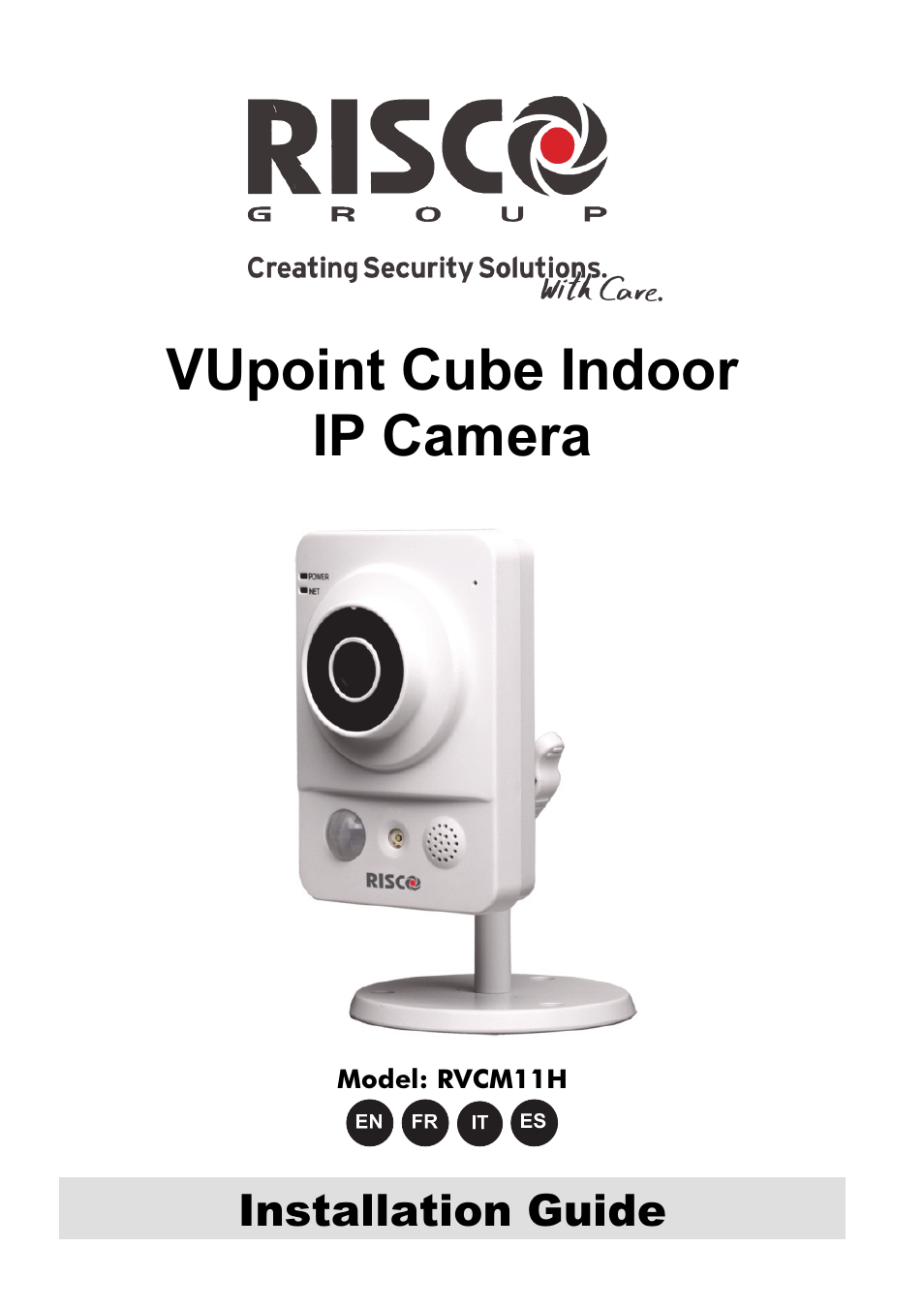 Risco Group Vupoint Indoor Ip Camera Rvcm11h User Manual 92 Pages