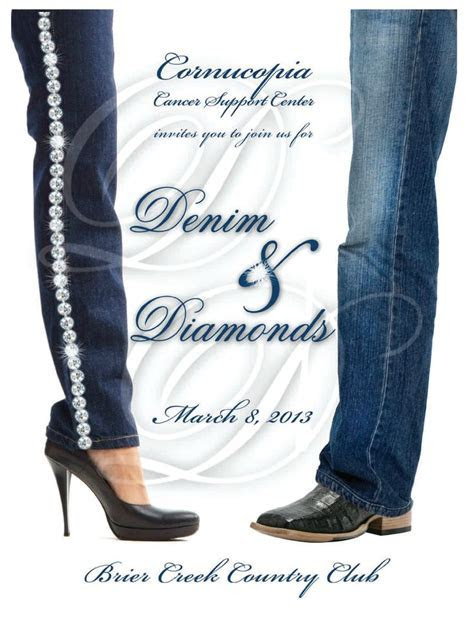 Denim And Diamonds Party Attire cakepins.com   Twins