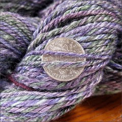 Iris Merino-Bamboo yarn, close up