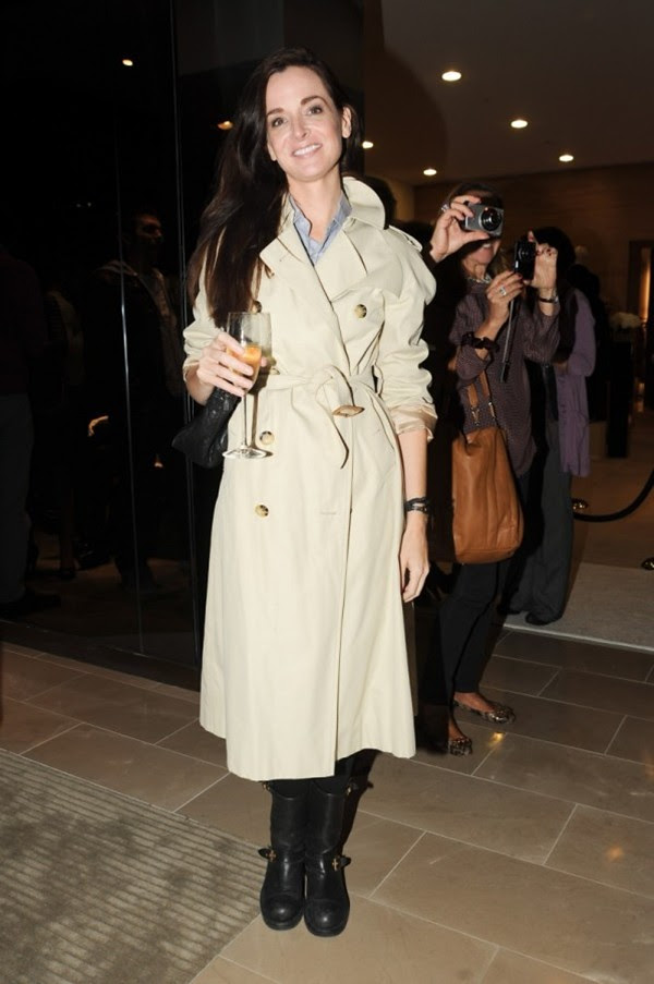 9d Opening of the New Burberry London Shop at Saks Fifth Avenue NY-oct25-Annie Churchill Albert.jpg