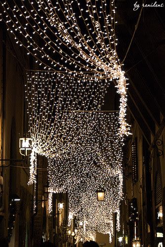 christmas decorations on streets by renidens