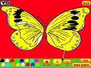 Jogar Coloring 5 butterfly Jogos