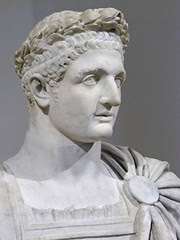 Bust of the Roman Emperor Domitian 1st century...