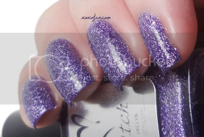 xoxoJen's swatch of b.i.t.c.h. by Jaclyn Sparkle Queen