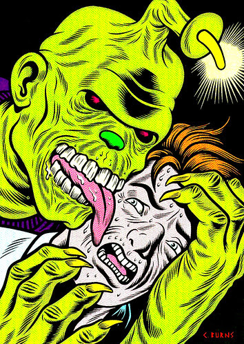 Monster Brains - Charles Burns Preview Image