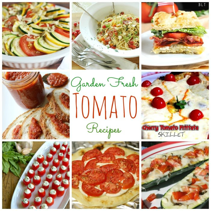 Garden Fresh Tomato Recipes