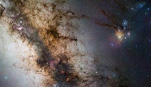 Milky way starscape taken from Paranal.