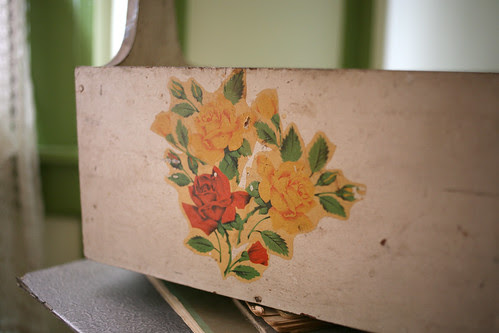 40s floral box