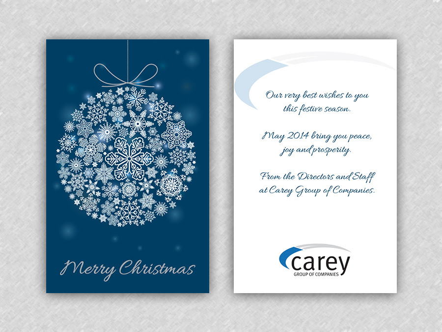 Christmas Greetings Messages From Business - Xmast 4