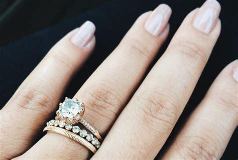 Radiant Rose Gold Wedding Rings   Ritani