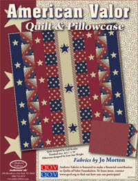 Free pattern: American Valor by Jo Morton | Quilting | CraftGossip.