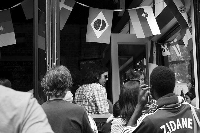 World Cup fans, Brooklyn