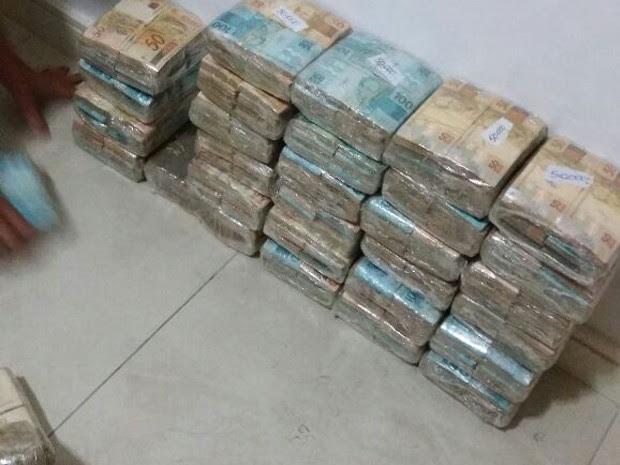 MP apreende R$ 2 milhões em ação contra tráfico na zona sul de São José (Foto: Arquivo Pessoal)