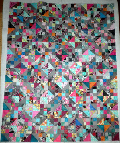 Mystery Quilt WIP