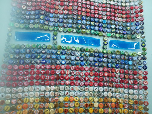 Bottle Cap Art By Emma Cotter