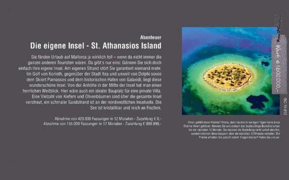 Απίστευτο! Γερμανική εταιρεία χαρίζει ελληνικό νησί σε όποιον αγοράσει 420.000 σκελετούς γυαλιών
