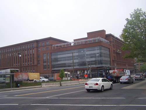 the new mixed use building, including a Walmart, at 1st and New Jersey Avenue NW
