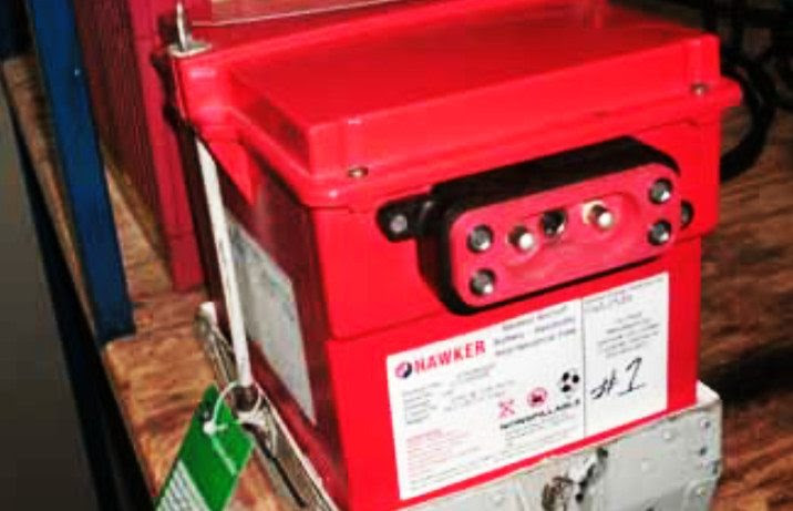 Valve-regulated lead acid battery (sealed battery)
