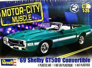 revell monogram  shelby gt ford mustang convertible