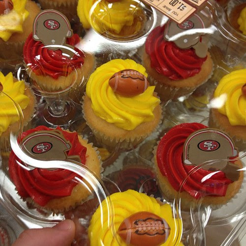 49ers cupcakes