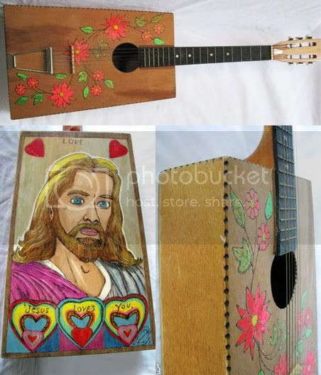 Hippie Jesus Guitar
