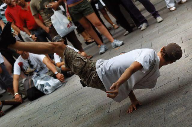 Urban Street Dance in Barcelona [enlarge]