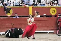 Enrique Ponce matando en Lima
