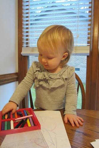 crayon selection