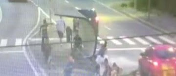Dois são detidos após câmera flagrar assassinato; assista (Reprodução/DIG São José dos Campos)