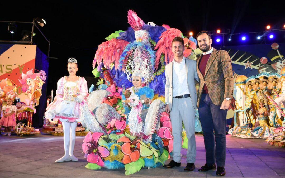 Katsunari de Armas Álvarez, Reina Infantil del Carnaval Internacional del Puerto de la Cruz 2017