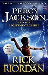 percy jackson lightning thief book cover