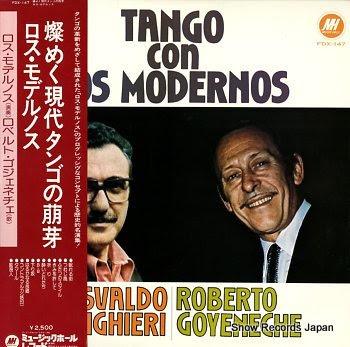 MODERNOS, LOS tango con los modernos