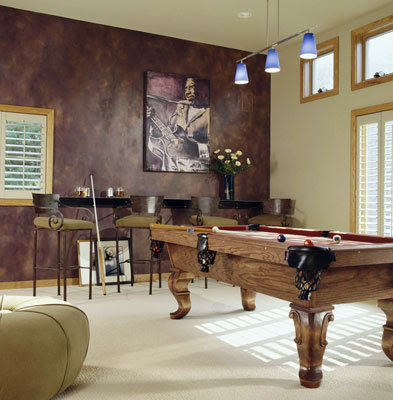 Family Room Game Room Design | Interior Decorating Tips