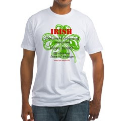 Irish BS Men's Fitted T-Shirt