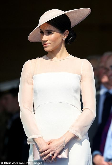 Meghan, Duchess of Sussex attends The Prince of Wales's 70th birthday celebration