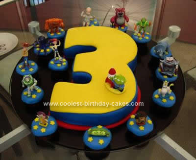 Story Birthday Cake On Coolest Toy 3rd 40