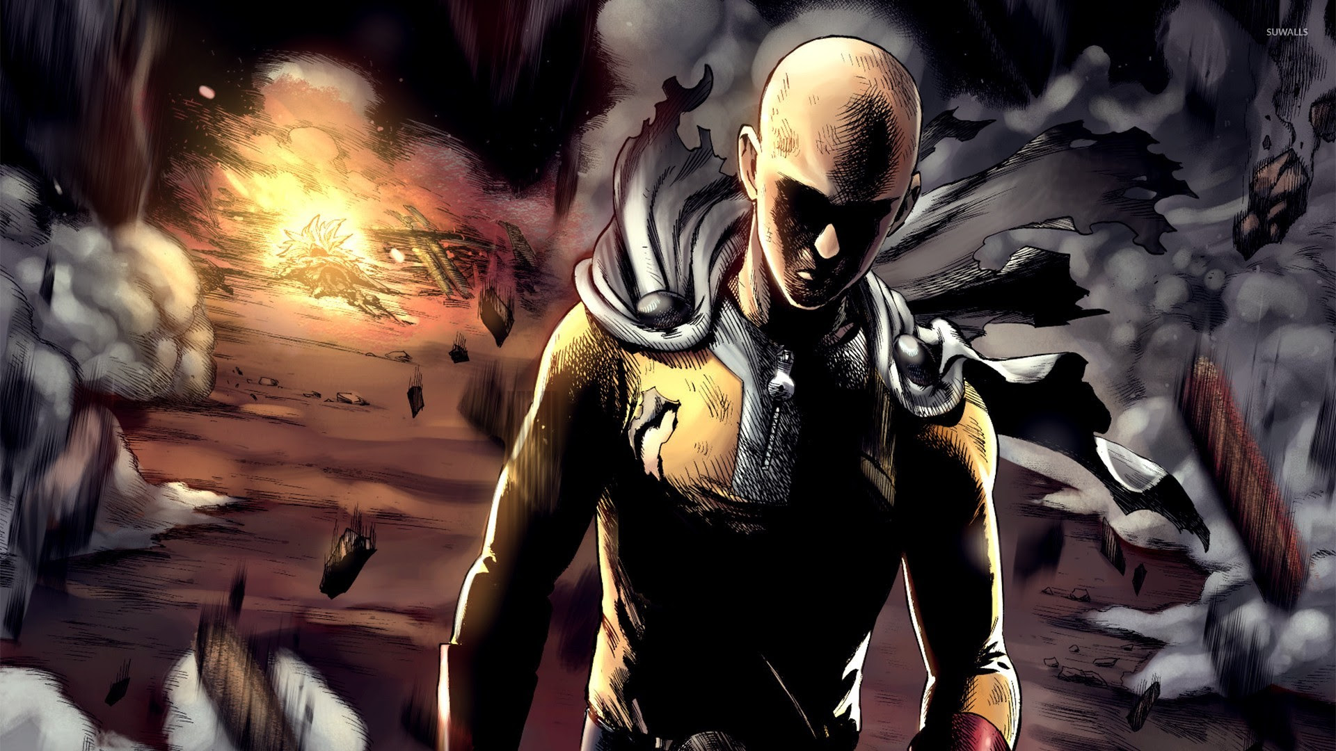 Saitama One Punch Man Wallpapers Hd Wallpapers Id 16960 2 Wallpaper