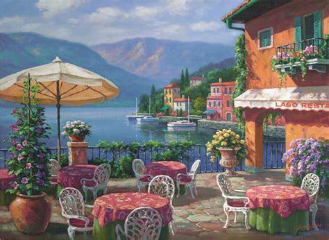 anatolian  parca puzzle lago cafe