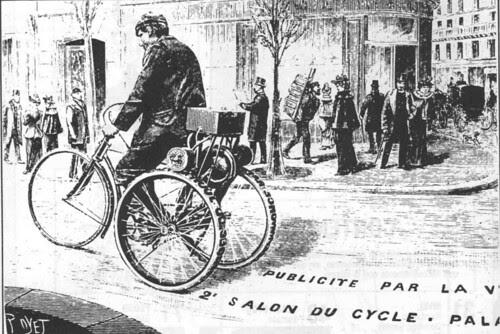triciclo publicitario