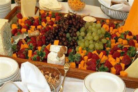 Planning a wedding reception with finger foods can be a