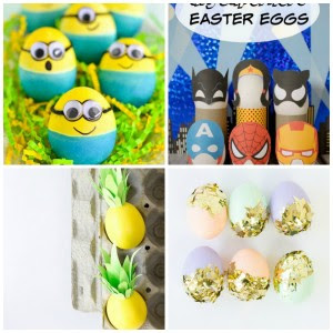 20 Fun Easter Egg Decorating Ideas My Frugal Adventures