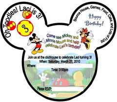 Invite Picture Blanks