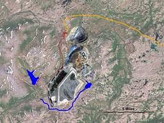 Simulation of the Proposed Pebble Mine, Alaska