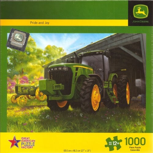 PRIDE /& JOY TRACTOR COUNTRY VILLAGE JIGSAW PUZZLE   **FAST DISPATCH**